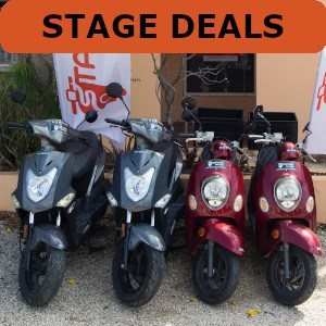 Stagedeal scooter Bonaire